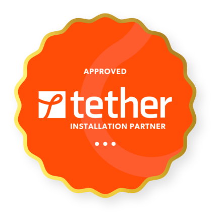 tether installation partner