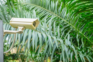 security camera monitoring anti social behavior in housing association